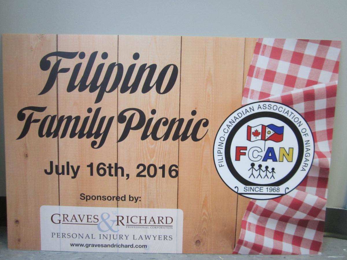 Filipino Family Picnic